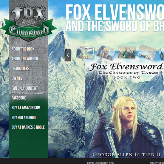 Home page of Fox Elvensword